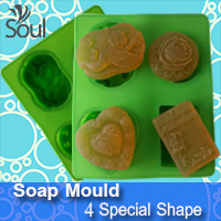 Soap Mould - 4 Special Shape