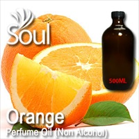 Perfume Oil (Non Alcohol) Orange - 500ml