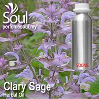 Herbal Oil Clary Sage - 500ml